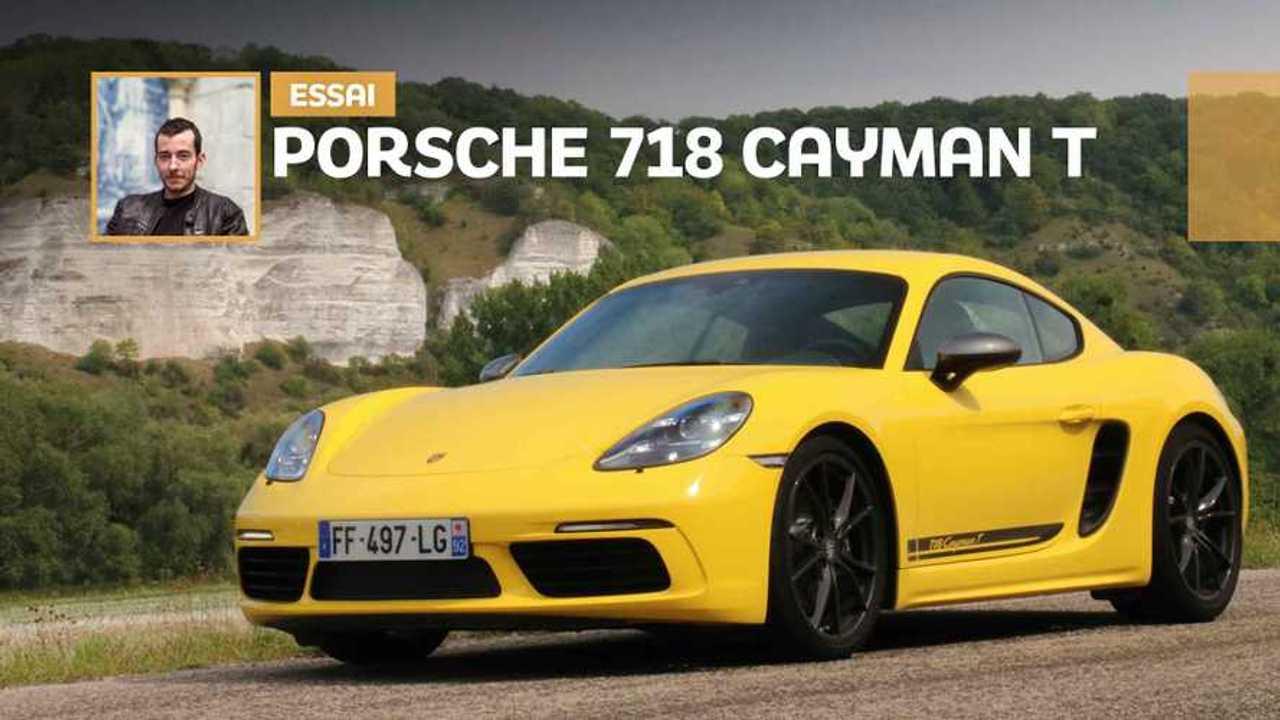 Essai Porsche Cayman T