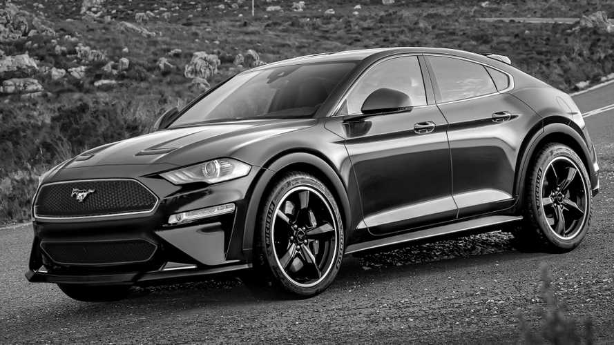 Ford's Mustang-Inspired, Electric SUV Should Look A Lot Like This