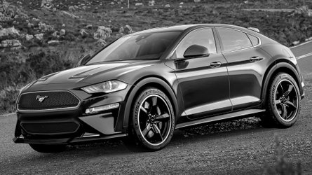 Ford Mustang-Inspired Electric SUV Teased In Official Spy Shots