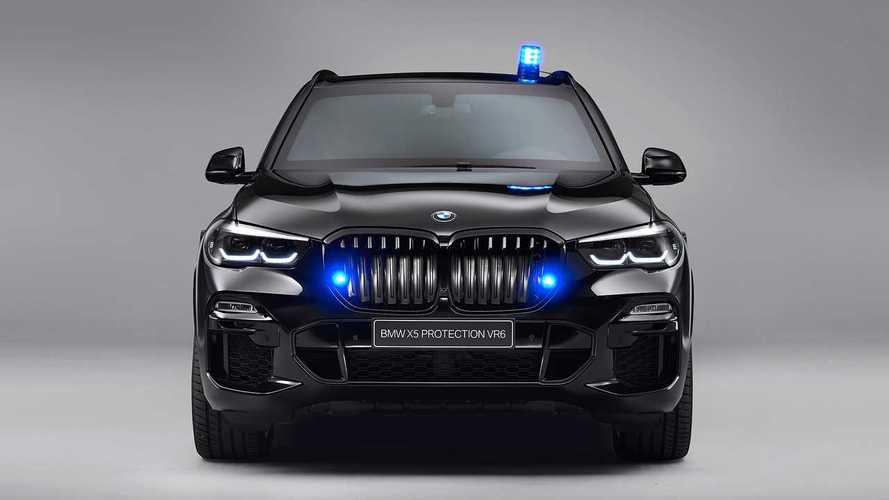 BMW X5 Protection VR6 (2019) foto| Motor1.com France