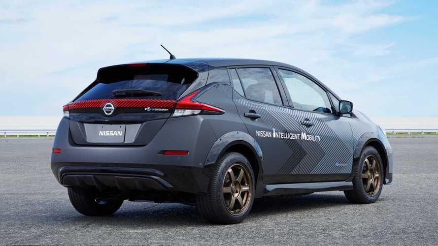 Nissan LEAF e+ con 309 CV y tracción total