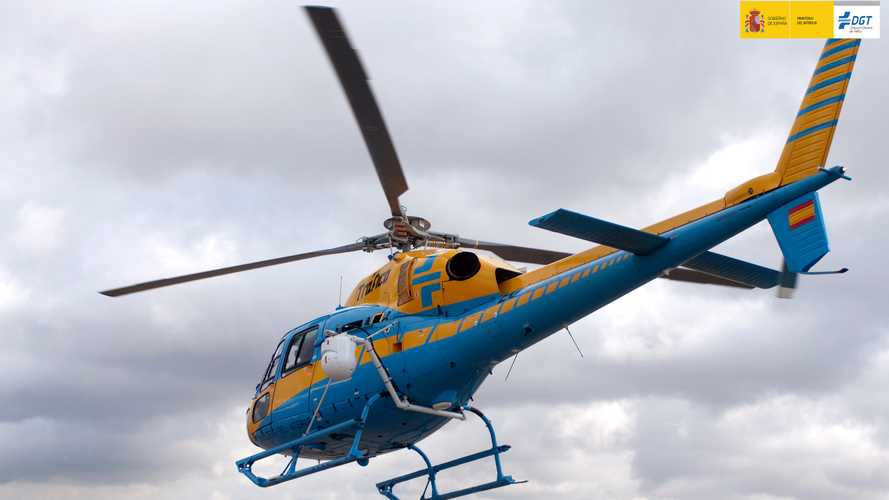 ¿Pueden localizarse los helicópteros de la DGT con una app del móvil?