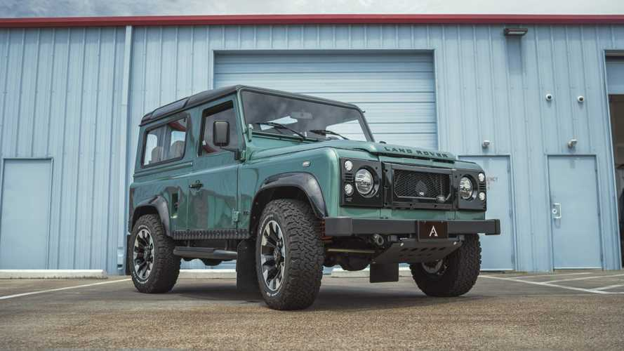 LS-Swapped Land Rover Defender