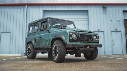 Ls swapped land rover defender