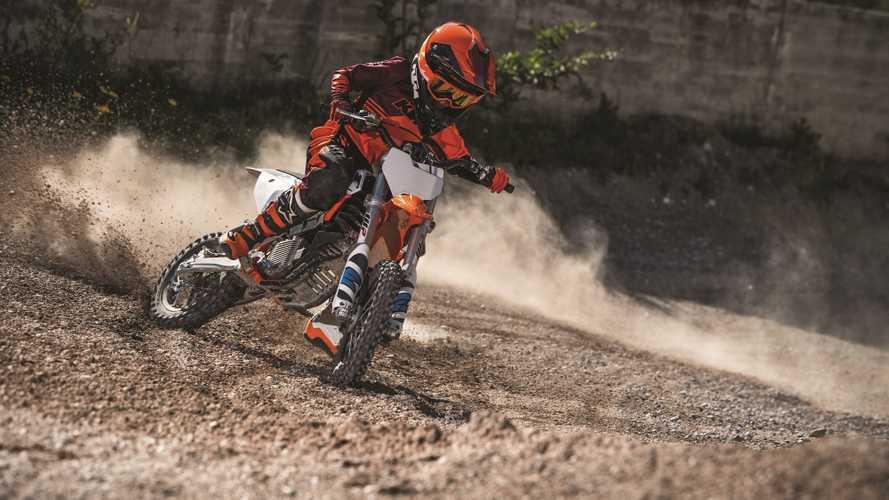 KTM SX-E 5, la moto da minicross diventa elettrica