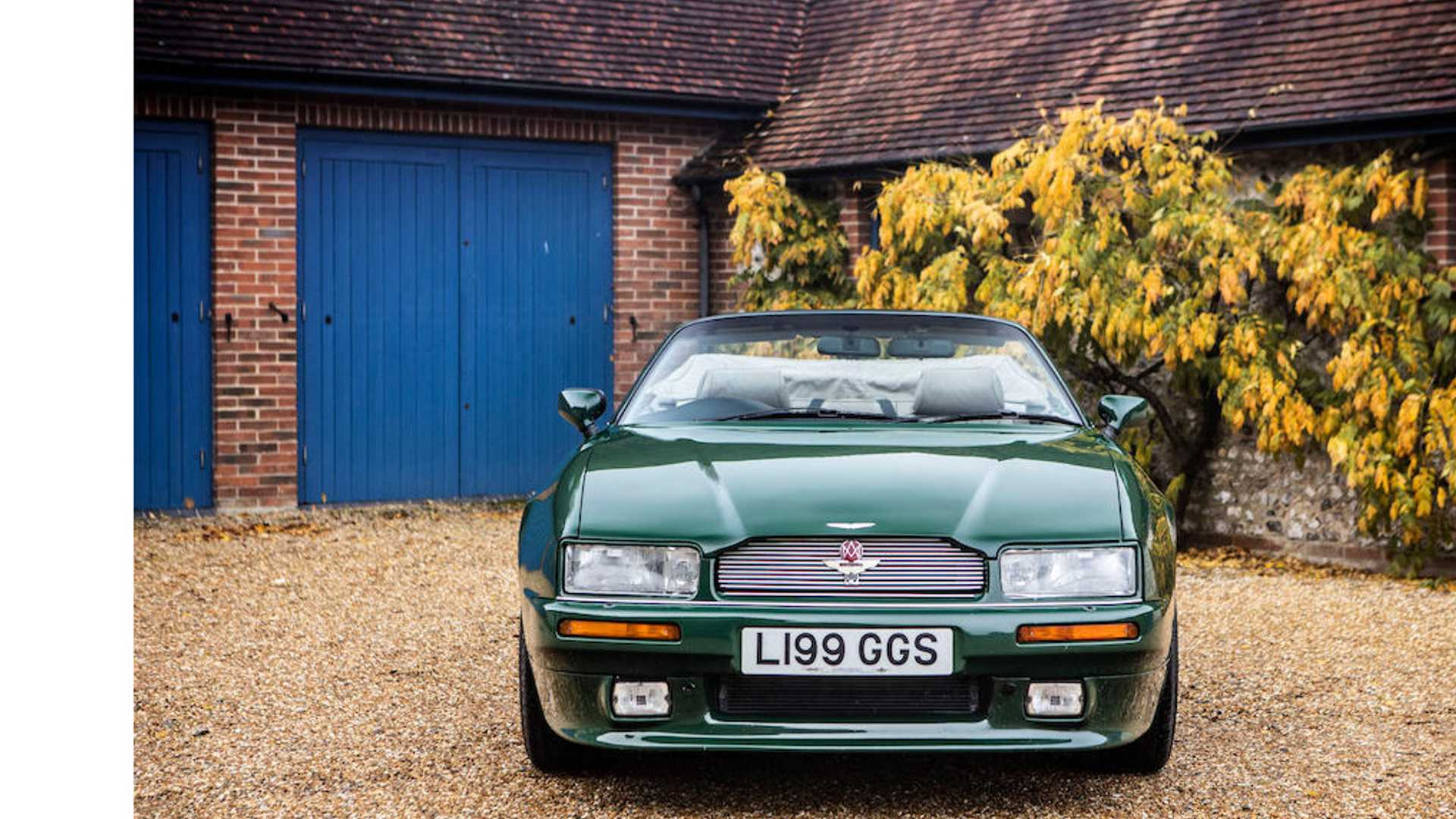 "[""Prince Charles' 1994 Aston Martin Virage Volante Heading To Auction""]"