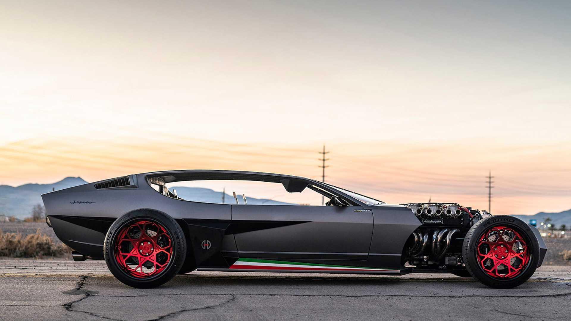 """[""""1968 Lamborghini Espada Rat Rod""""]"""
