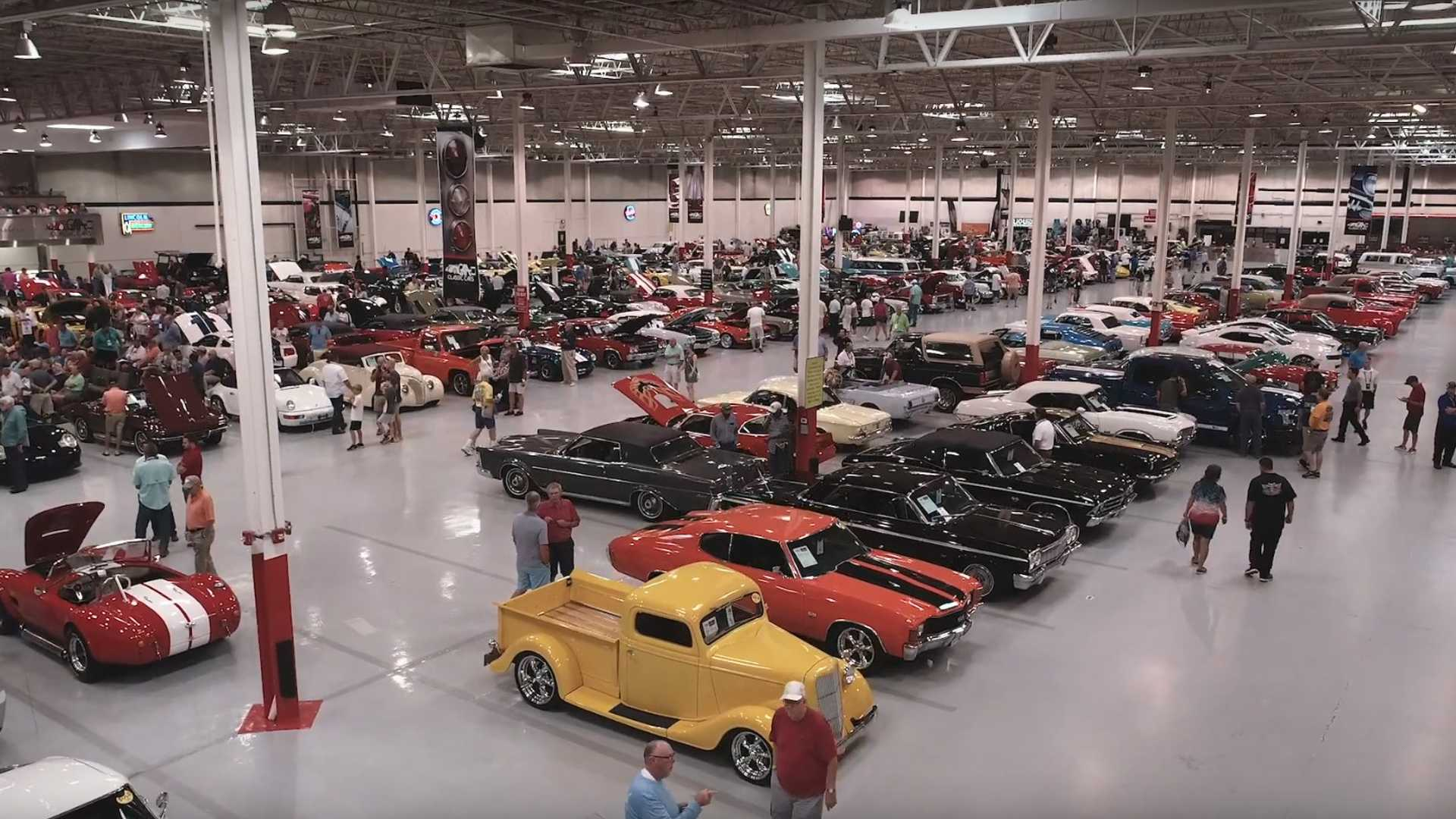 """[""""George Shinn Talks About His Vast Car Collection Up For Auction""""]"""