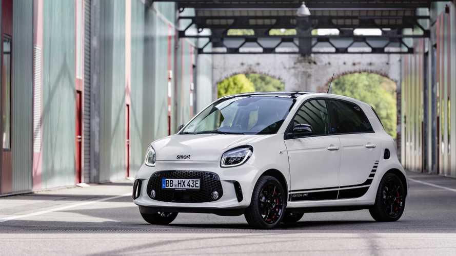 Smart Fortwo und Forfour Facelift (2019): Neue Elektro-Zwerge