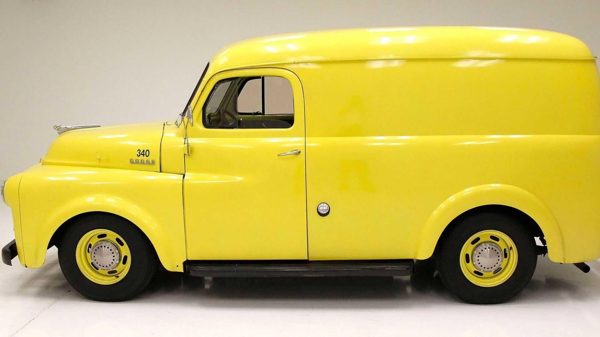 "[""For Under $20K Grab A 1953 Dodge Panel Truck""]"