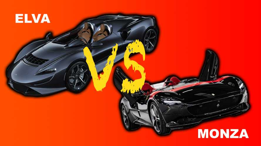 McLaren Elva vs Ferrari Monza - Super Speedster Shootout