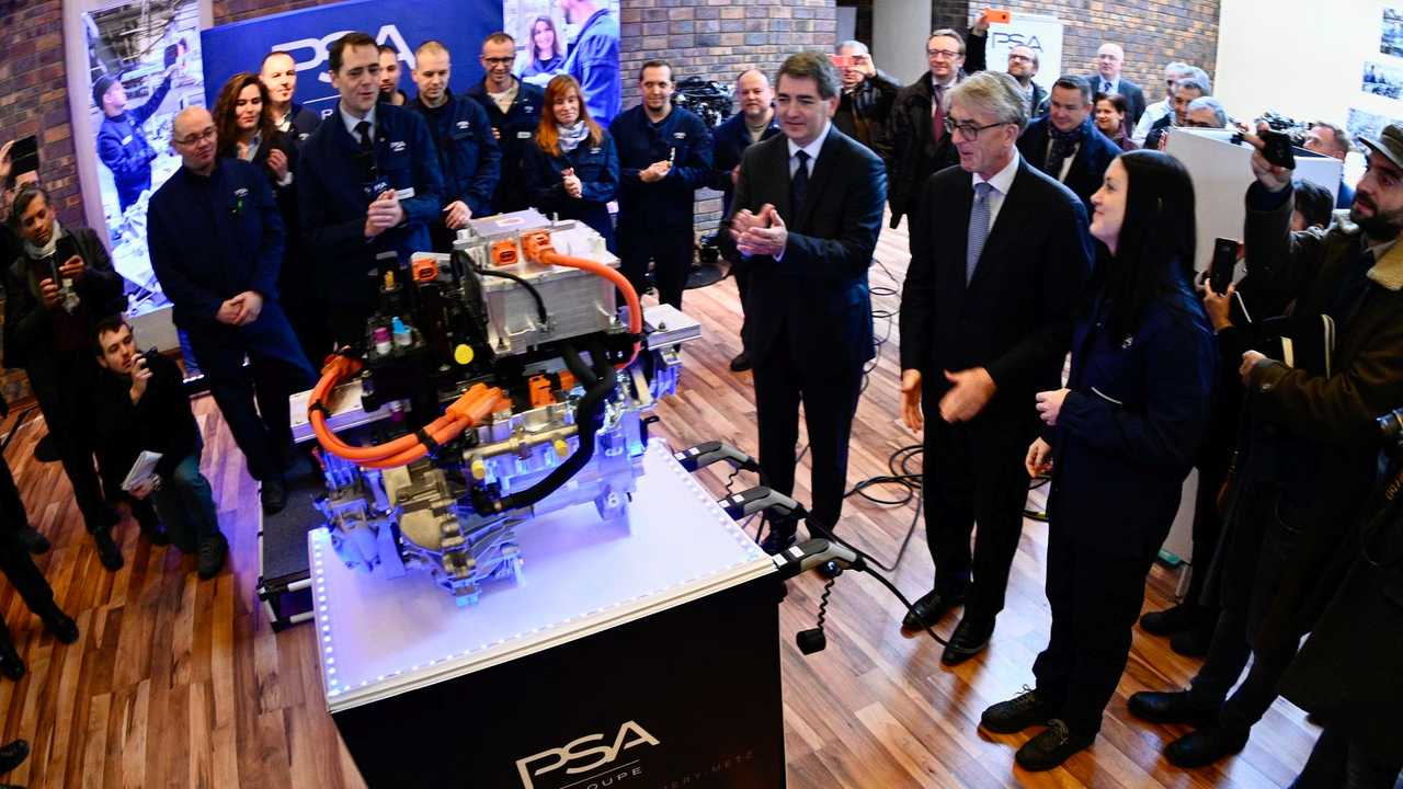 PSA Group electric drive unit production at the Trémery plant in France