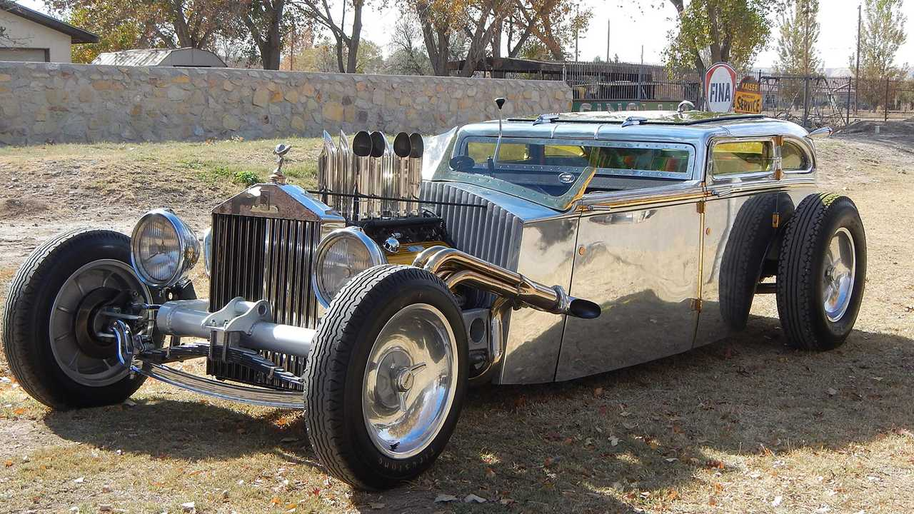 Hear The Story Of This Rolls-Royce Rat Rod