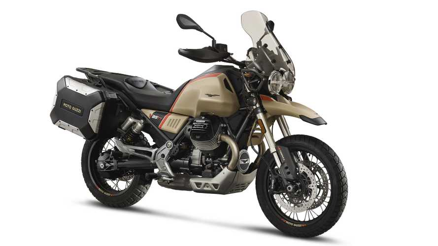 Piaggio Adds New Moto Guzzi V85 TT Travel To The Lineup