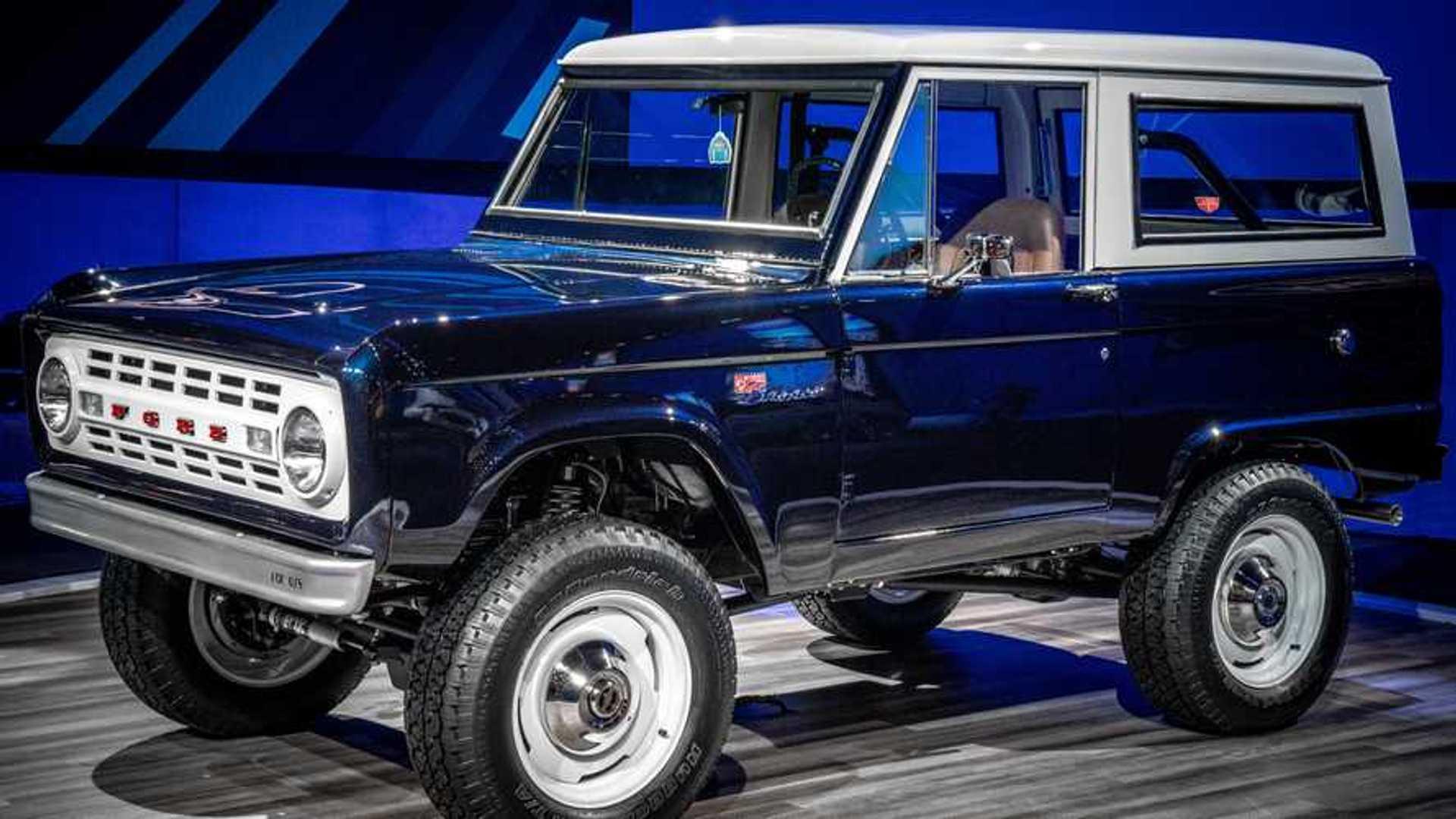 Jay Leno Ford Bronco Restomod 2019 SEMA Show