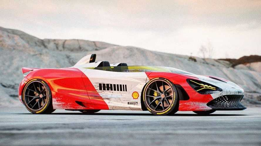 McLaren 720S Speedster renderkép