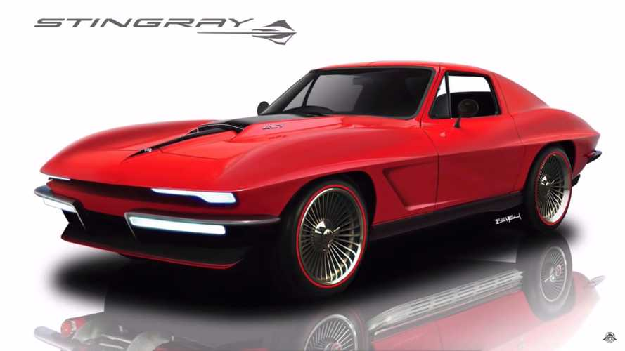 Este Chevy Corvette Stingray 1967 retro-moderno es un carro de ensueño