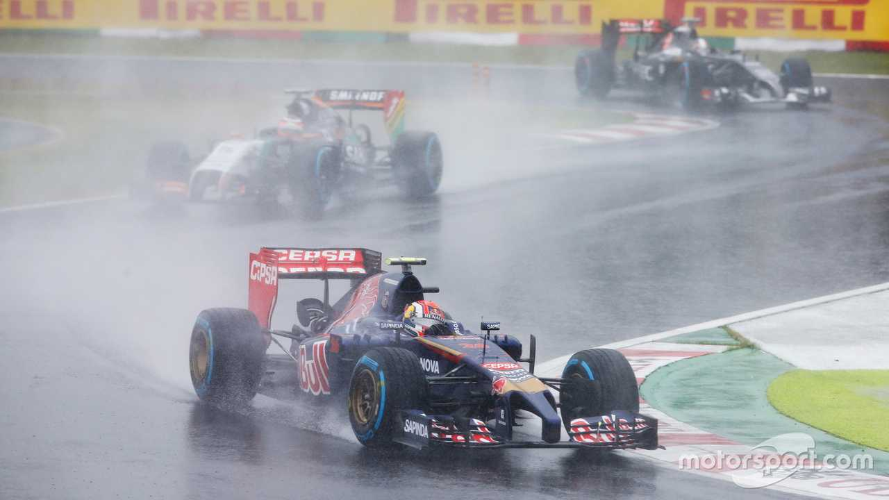 Daniil Kvyat at Japanese GP 2014