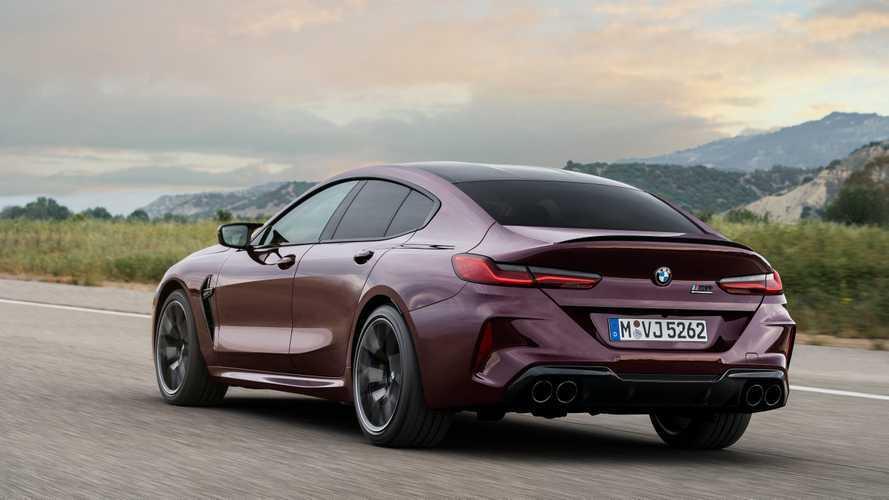BMW M8 Gran Coupé 2020, prestaciones prácticas