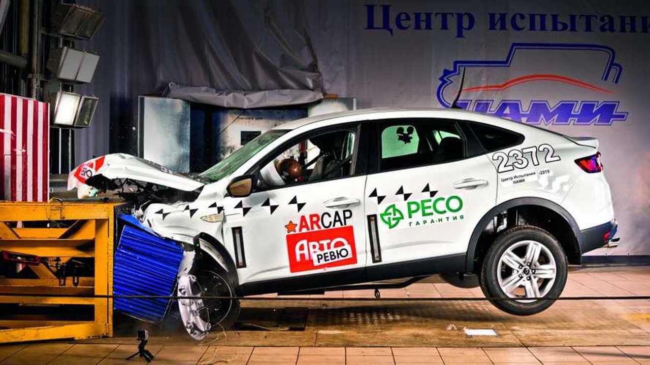 Renault Arkana crash test