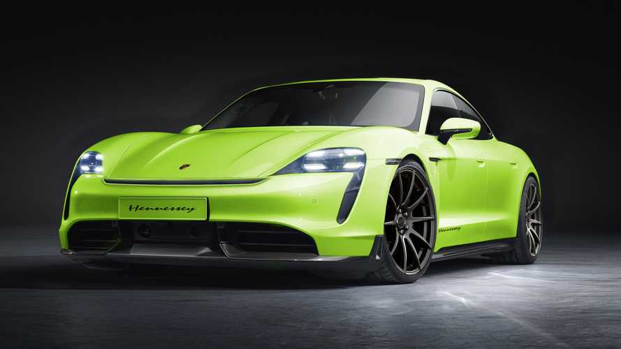 Yes, A Hennessey-Modified Porsche Taycan EV Is Happening