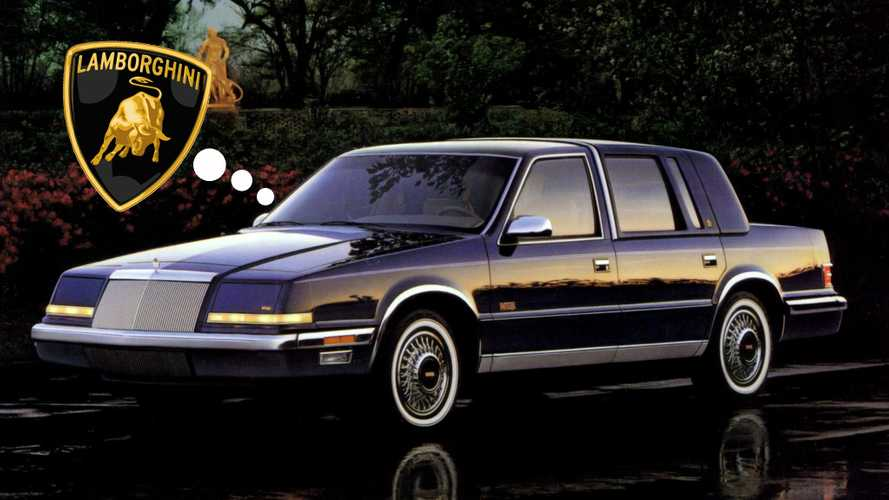 A Lamborghini-Badged Chrysler Imperial K-Car Almost Happened: Lutz