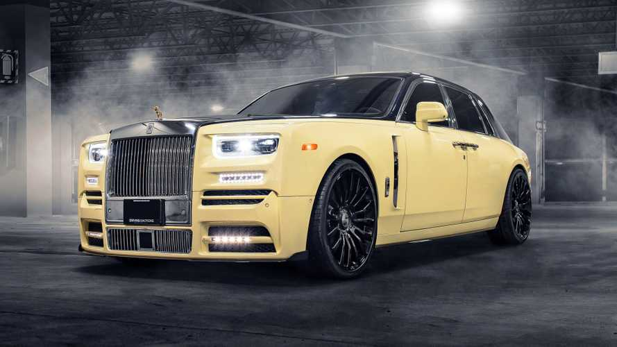 Gyémántberakásos bagolyszobor díszeleg Drake új Rolls-Royce Phantomjának elején