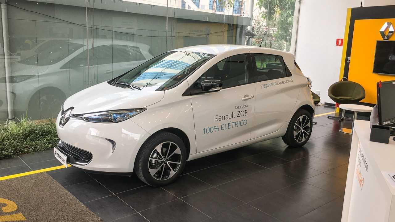 Renault Zoe 100% elétrico (BR)