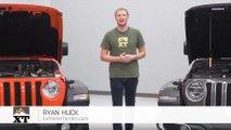 Wrangler motor seçenekleri testi