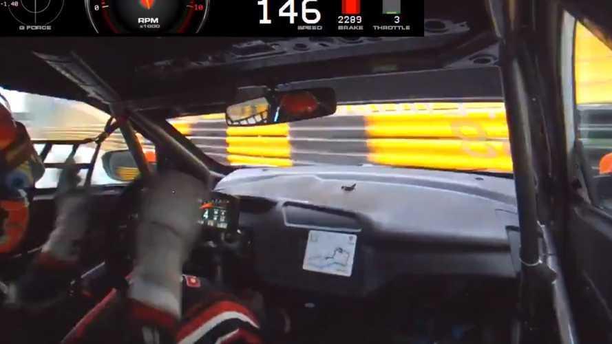 VIDEO - Le sauvetage de l'année pour Ehrlacher sur sa Honda Civic en WTCR ?