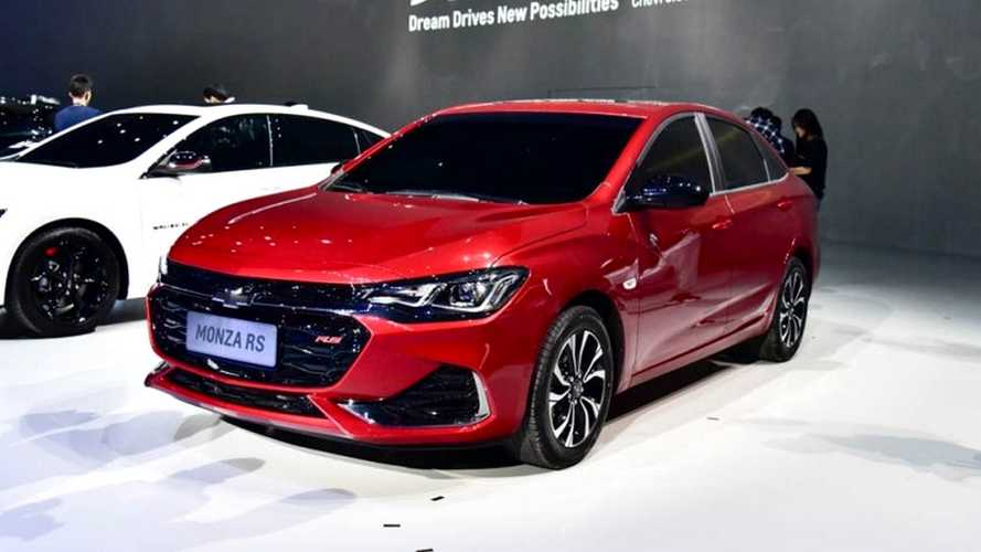 Novo Chevrolet Monza 2019 estreia na China