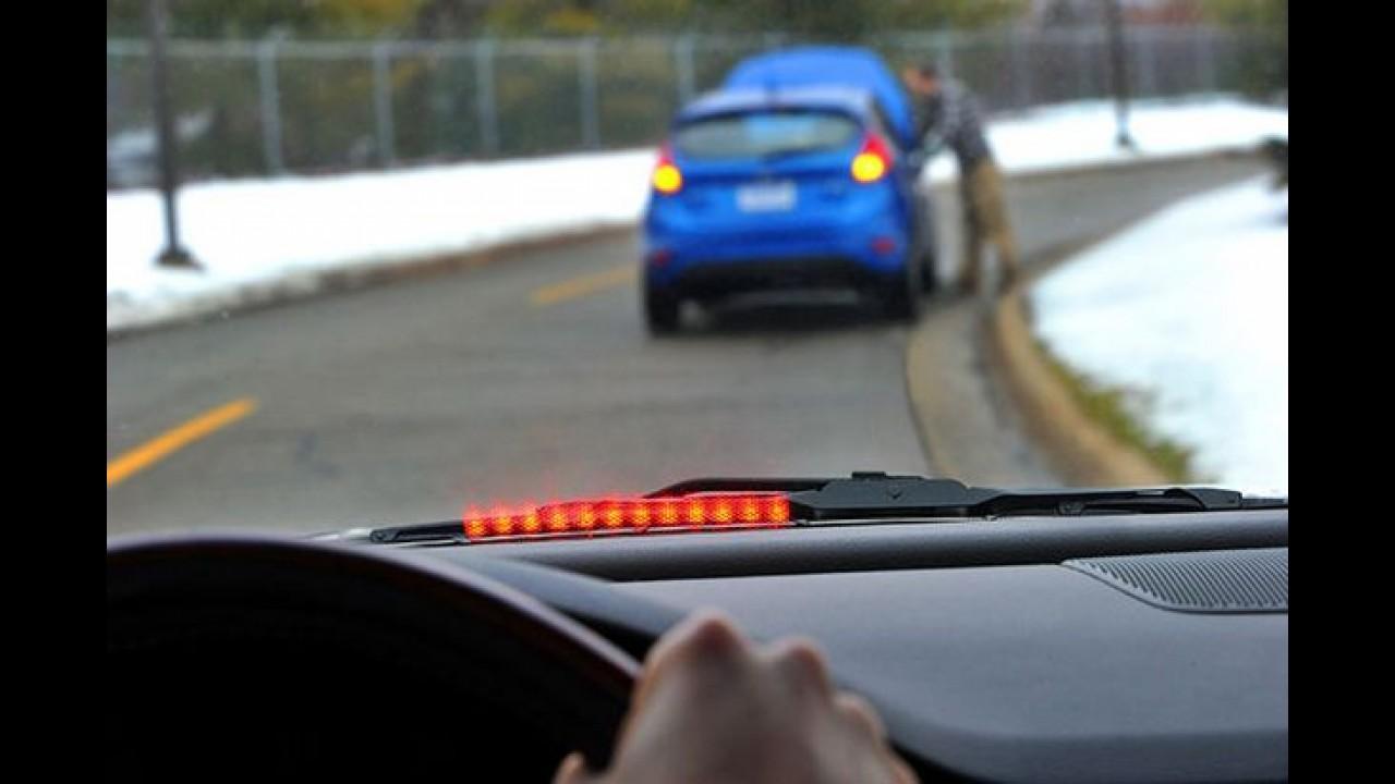 Com nova tecnologia, carros da Ford poderão emitir alertas aos veículos próximos