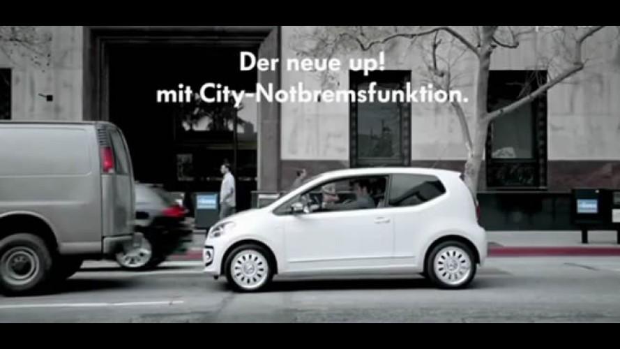 Volkswagen mostra funcionamento do sistema City de frenagem automática do up!