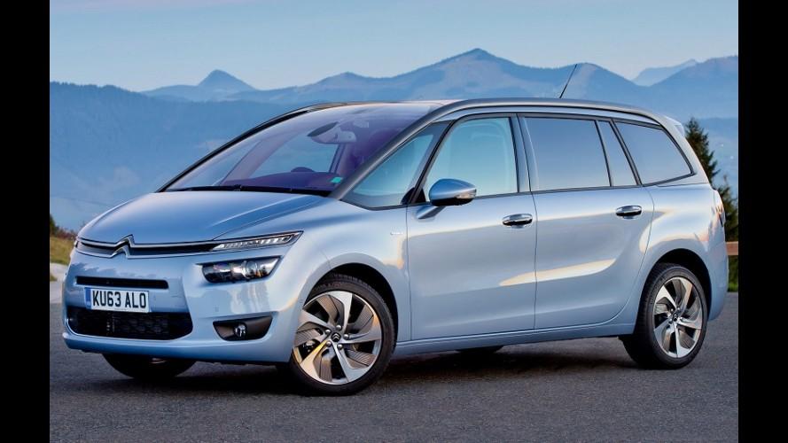 Citroën lança novas C4 Picasso e Grand C4 Picasso a diesel na Argentina