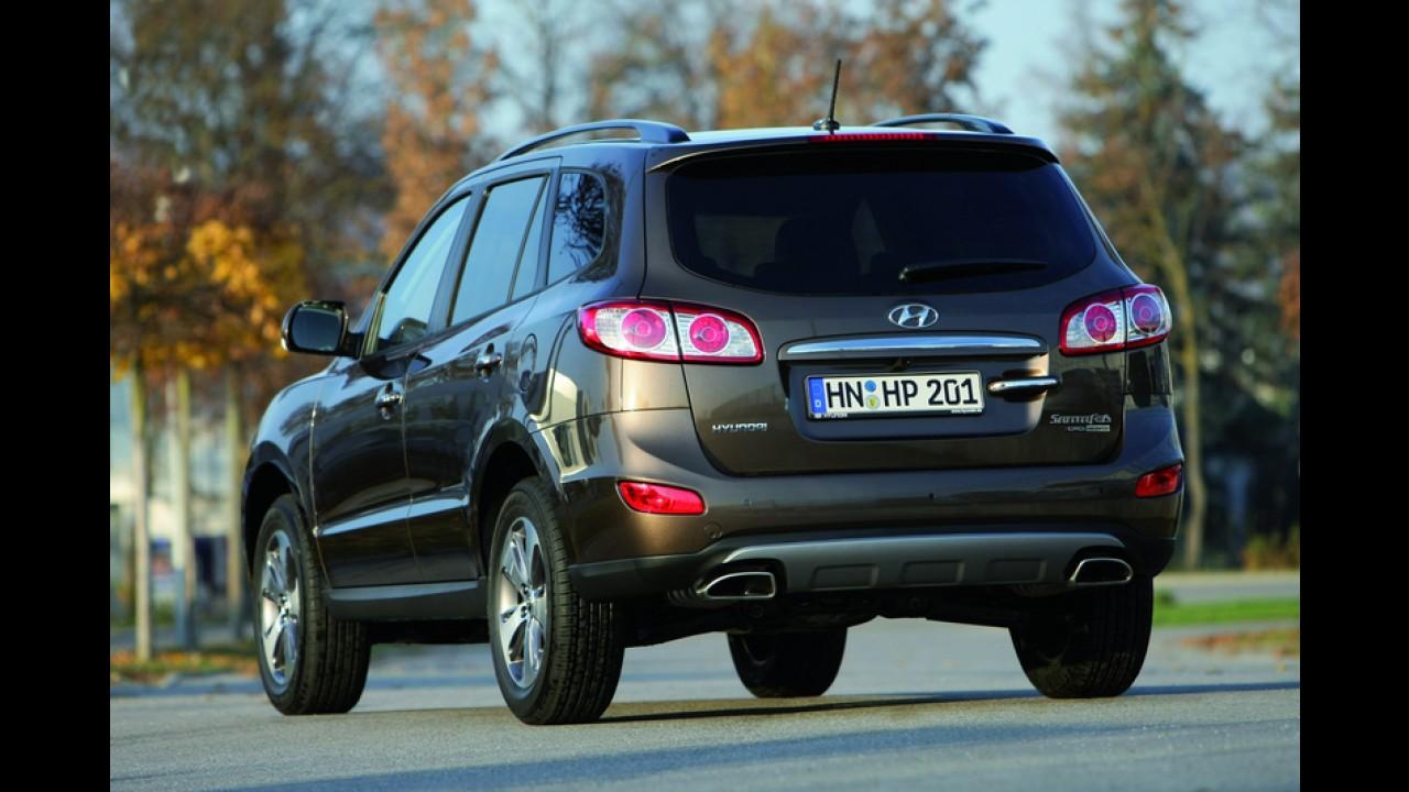 Hyundai Santa Fe reestilizado é apresentado oficialmente na Europa