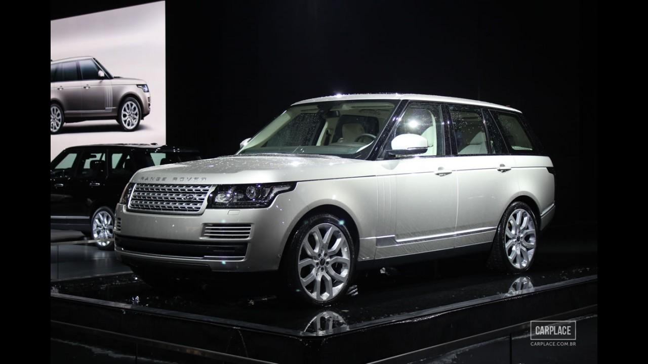 Nova geração do Range Rover Vogue chega ao Brasil em março