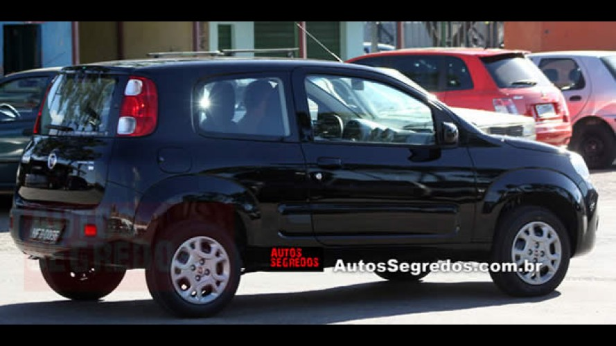Novo Fiat Uno de duas portas chegará em março
