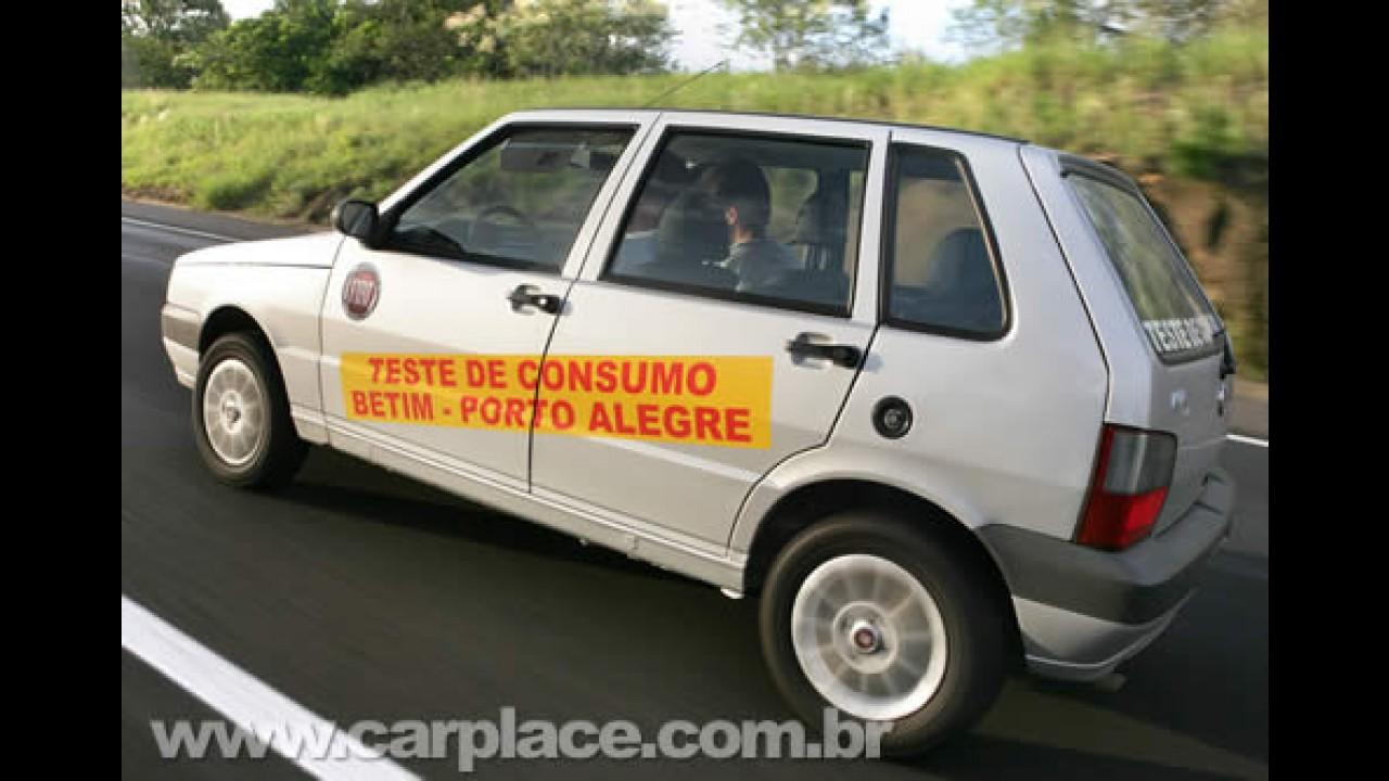 Jornalista dirige Fiat Mille Fire Economy por 1800 km para testar consumo