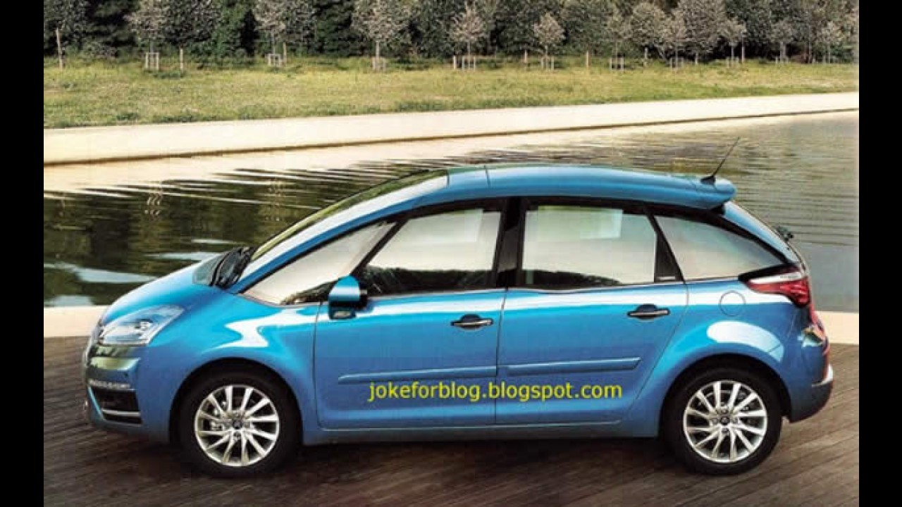 Facelift do Citroën C4 Picasso vaza na internet
