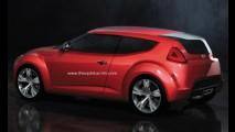 Projeção: Será assim o Hyundai Veloster?