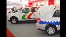Interseg: Nissan mostra Frontier, Livina e Tiida Sedan como viaturas policiais