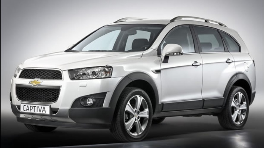 Salão de Paris: Chevrolet Captiva 2012