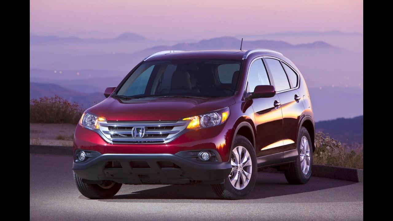 Honda anuncia recall global de mais de 320 mil unidades dos modelos CR-V e Acura ILX