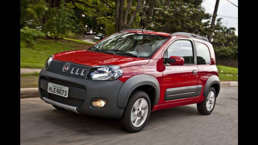 Fiat Strada Working CD, Uno Way 1.0 e Uno Economy 1.4 agora têm kit HSD de série