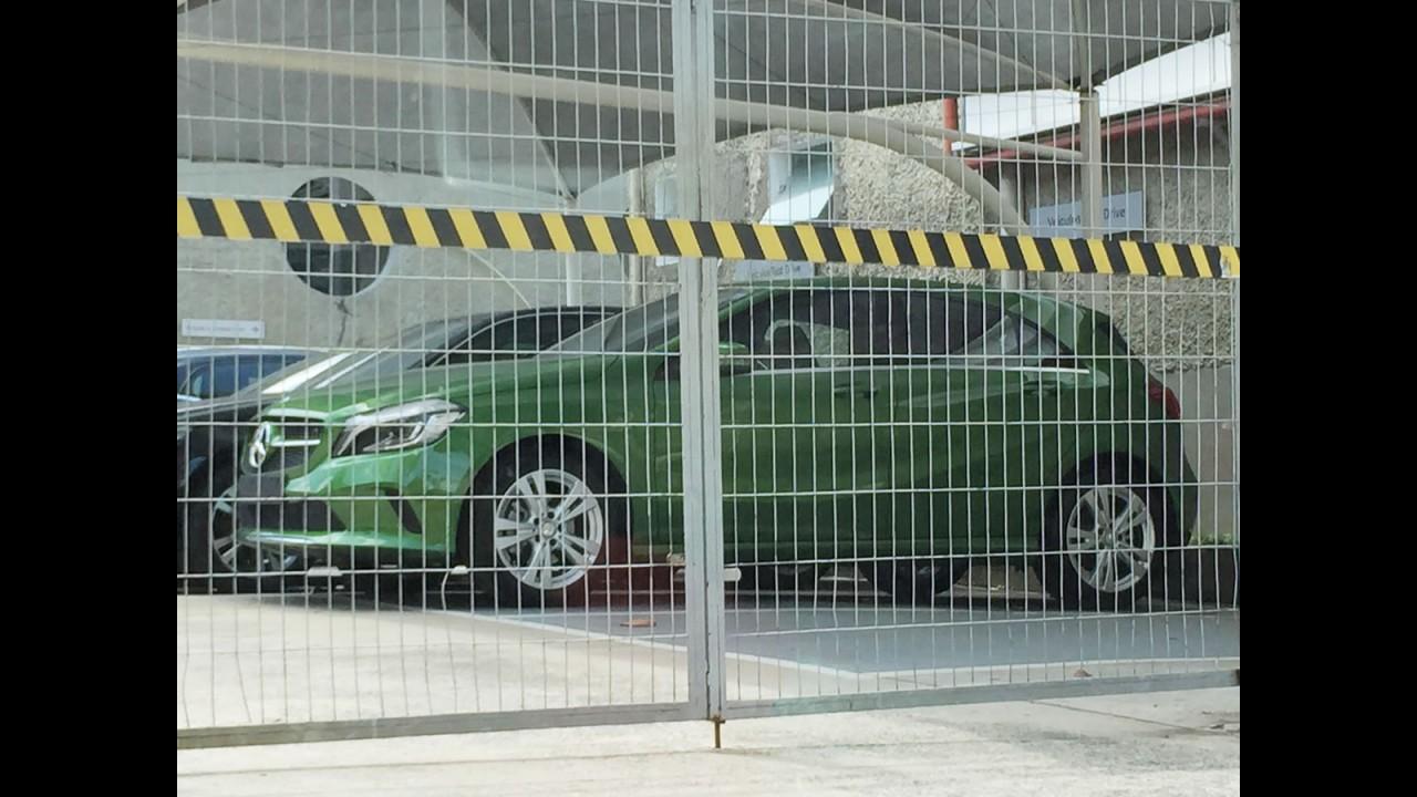 Flagra: novo Mercedes Classe A 2016 já está nas lojas brasileiras
