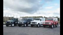 Land Rover testa versão elétrica do Defender em parque da Inglaterra