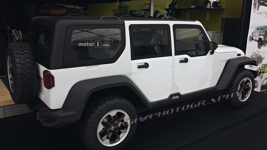 Rejected 2018 Jeep Wrangler design