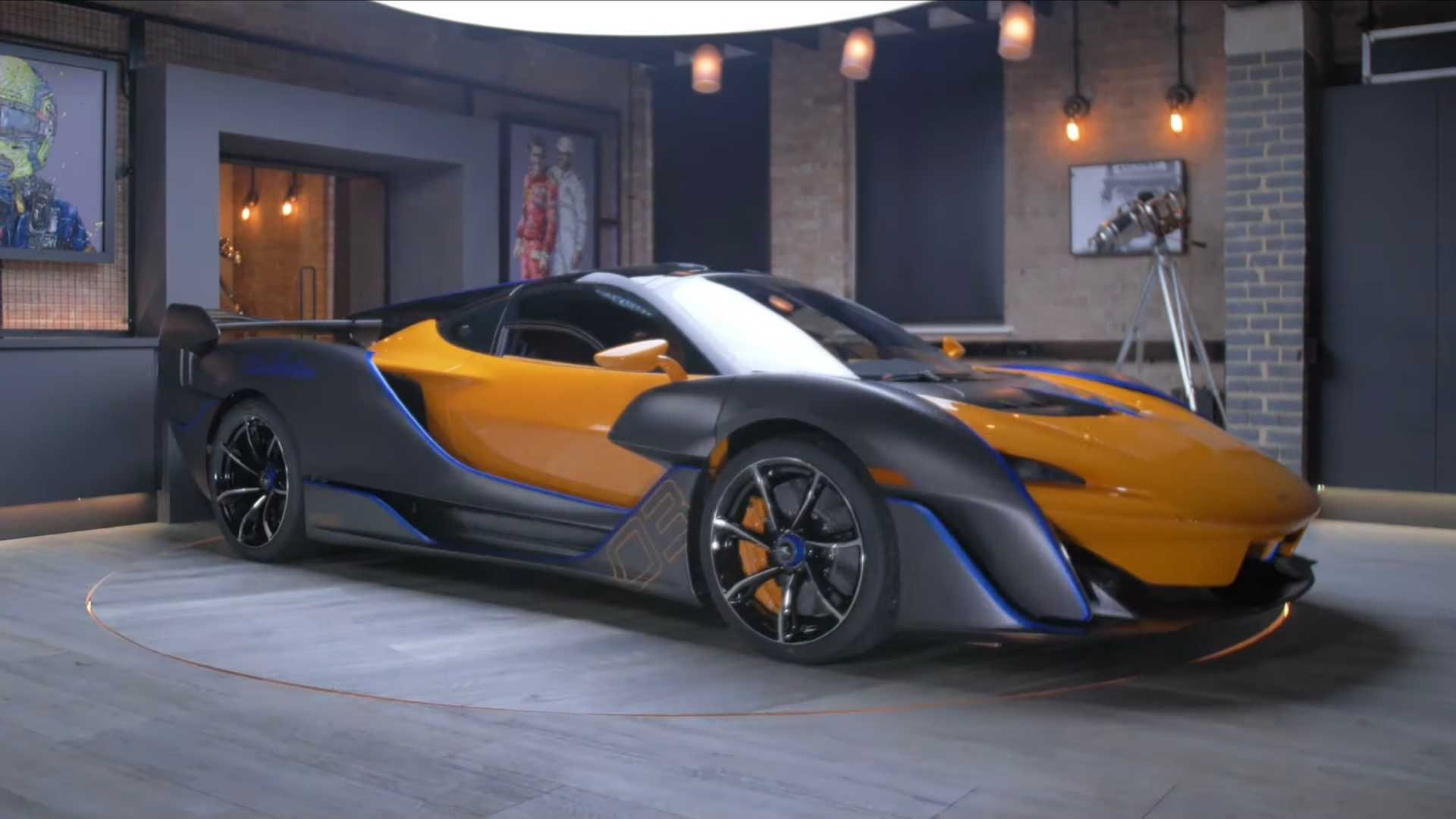 Познакомьтесь с McLaren Sabre с помощью этого расширенного видеообзора