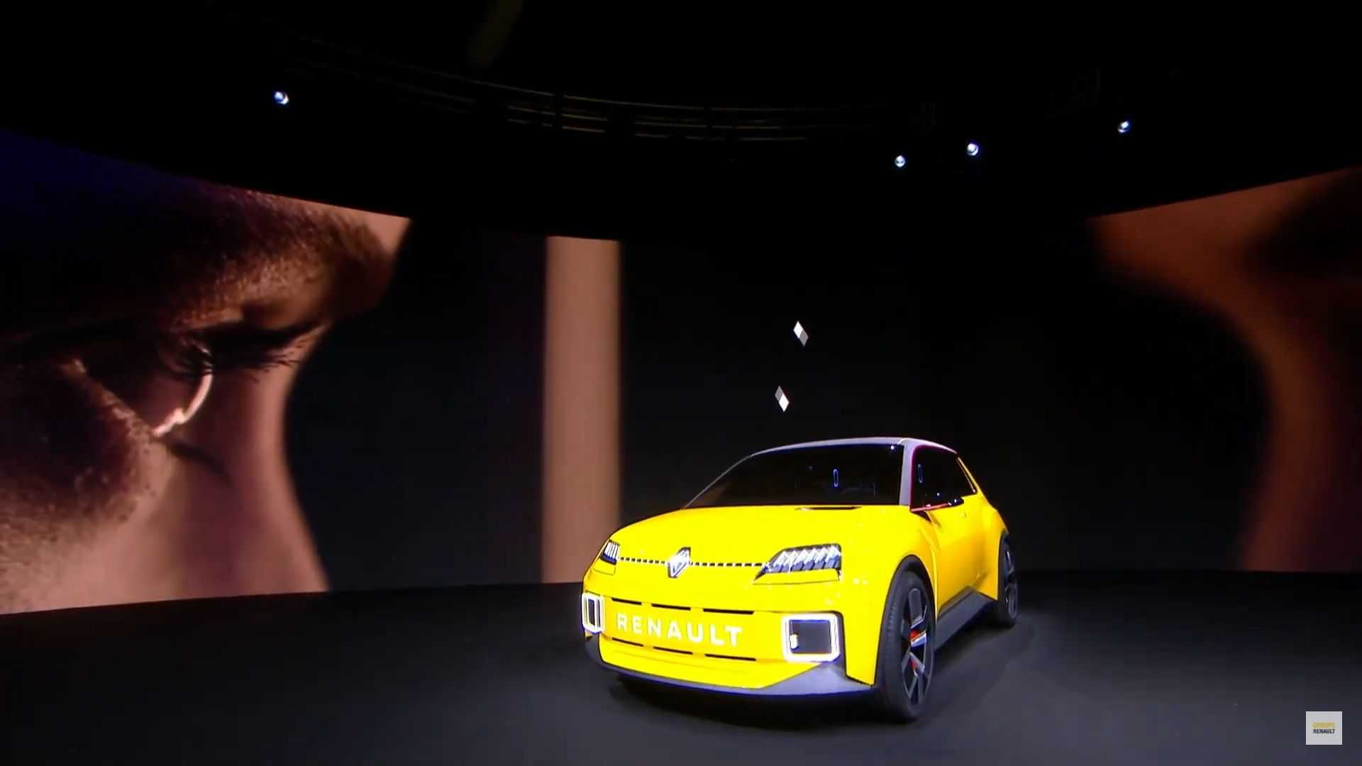 Renault 5 Electric Supermini Previewed With Retro Modern Styling