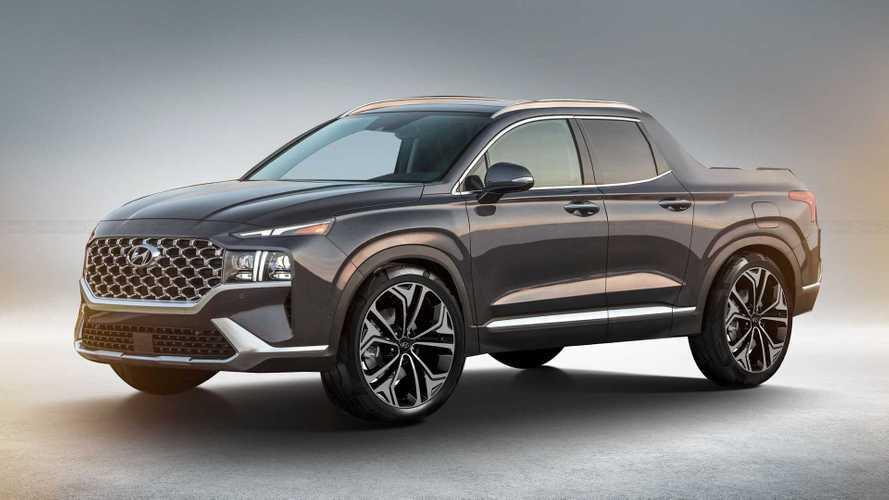 Hyundai Santa Cruz, Santa Fe detaylarıyla hayal edildi